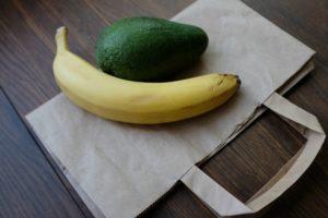 awokado i banan