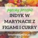 indyk z figami i curry przepis