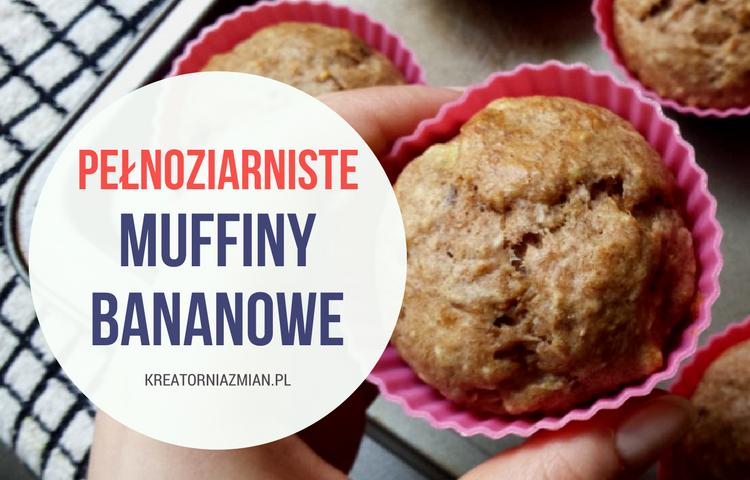 muffiny bananowe bez cukru