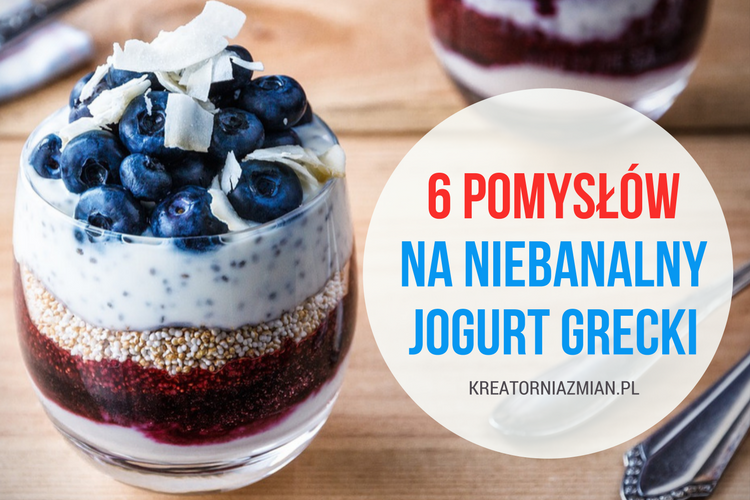 pomysły na jogurt