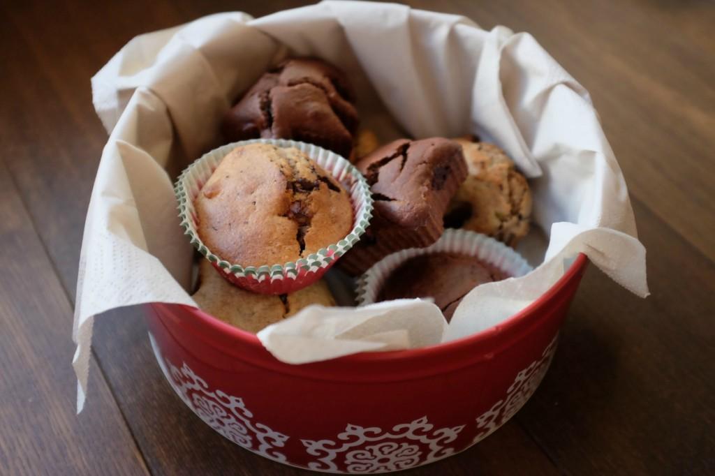 muffiny pudełko