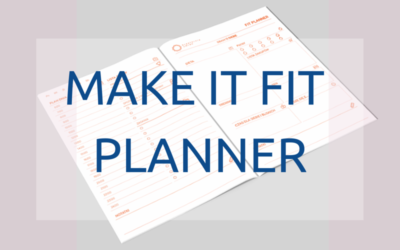 Make it fit planner organizacja