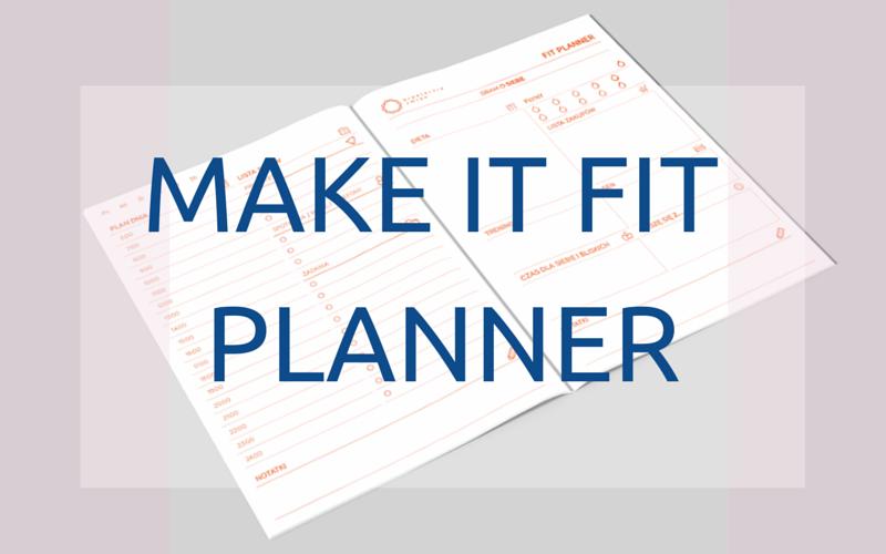 Make it fit planner organizacja