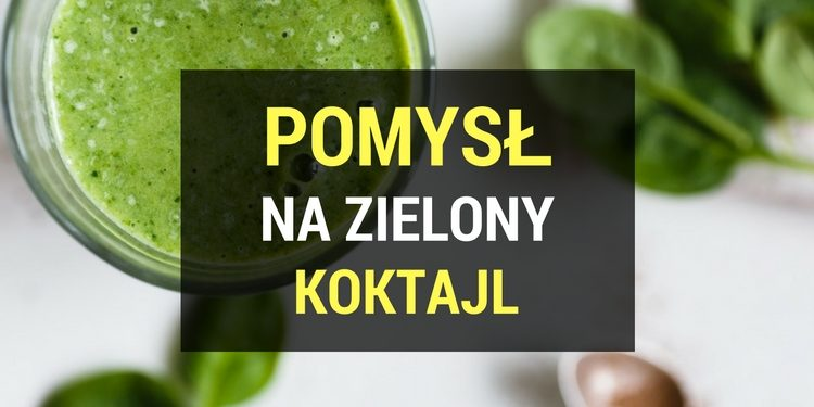 koktajl zielony