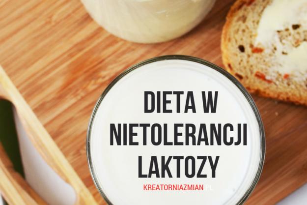 dieta w nietolerancji laktozy