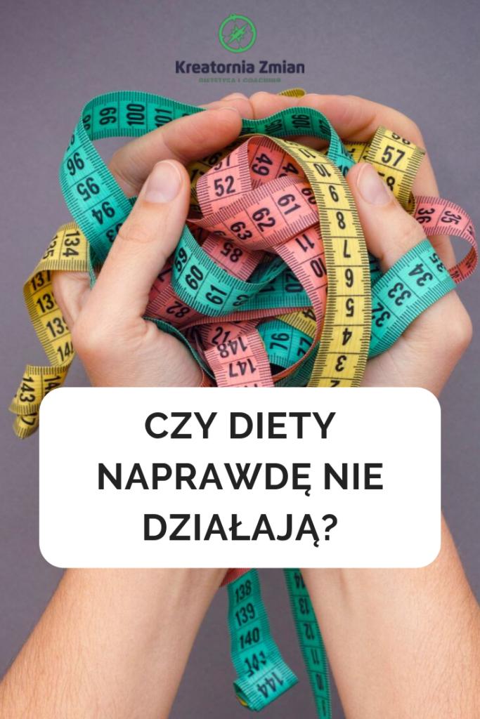 dlaczego diety nie działają