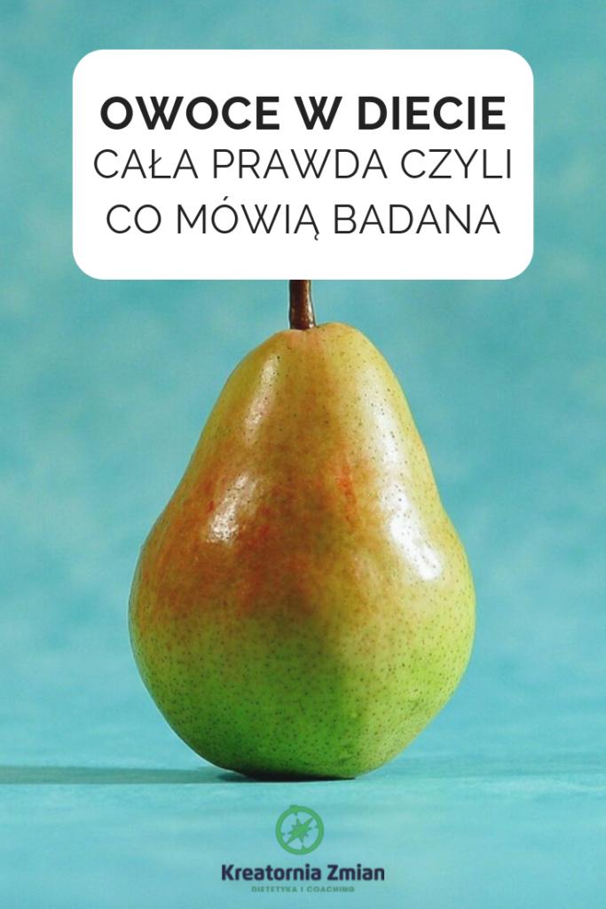 owoce wdiecie