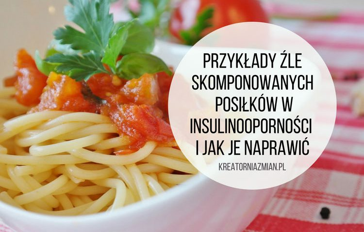 posiłki w insulinooporności