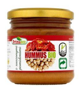 hummus zsuszonymi pomidorami