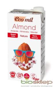 Napój, Mleko MigdałoweEcoMil, 1 litr
