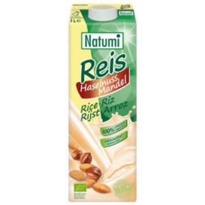 Natumi napój ryżowo-orzechowo-migdałowy