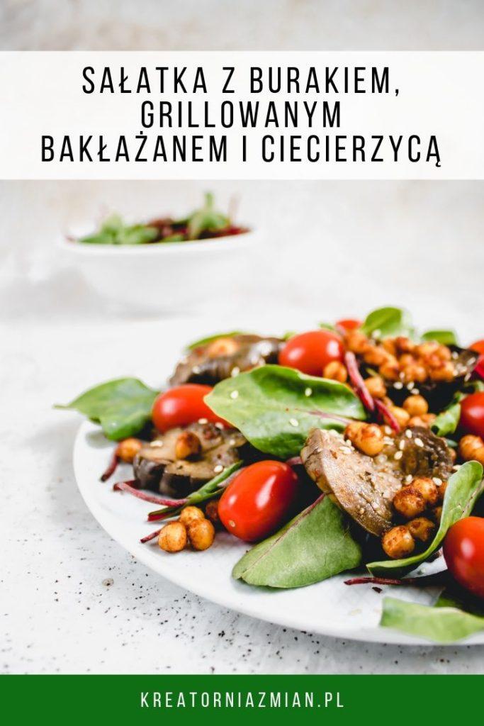 Salatka z burakiem i baklazanem