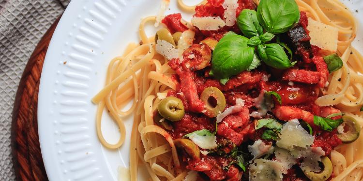 makaron z pancetta