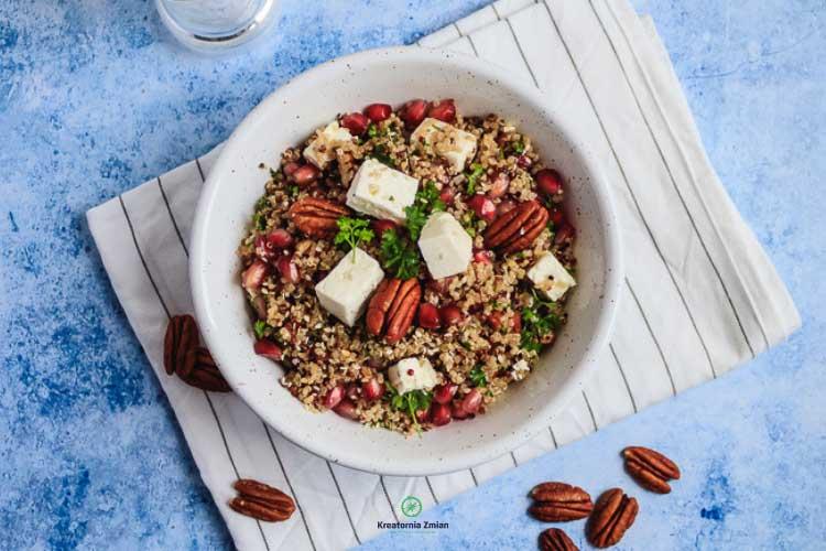salatka zkomosy zgranatem ifeta