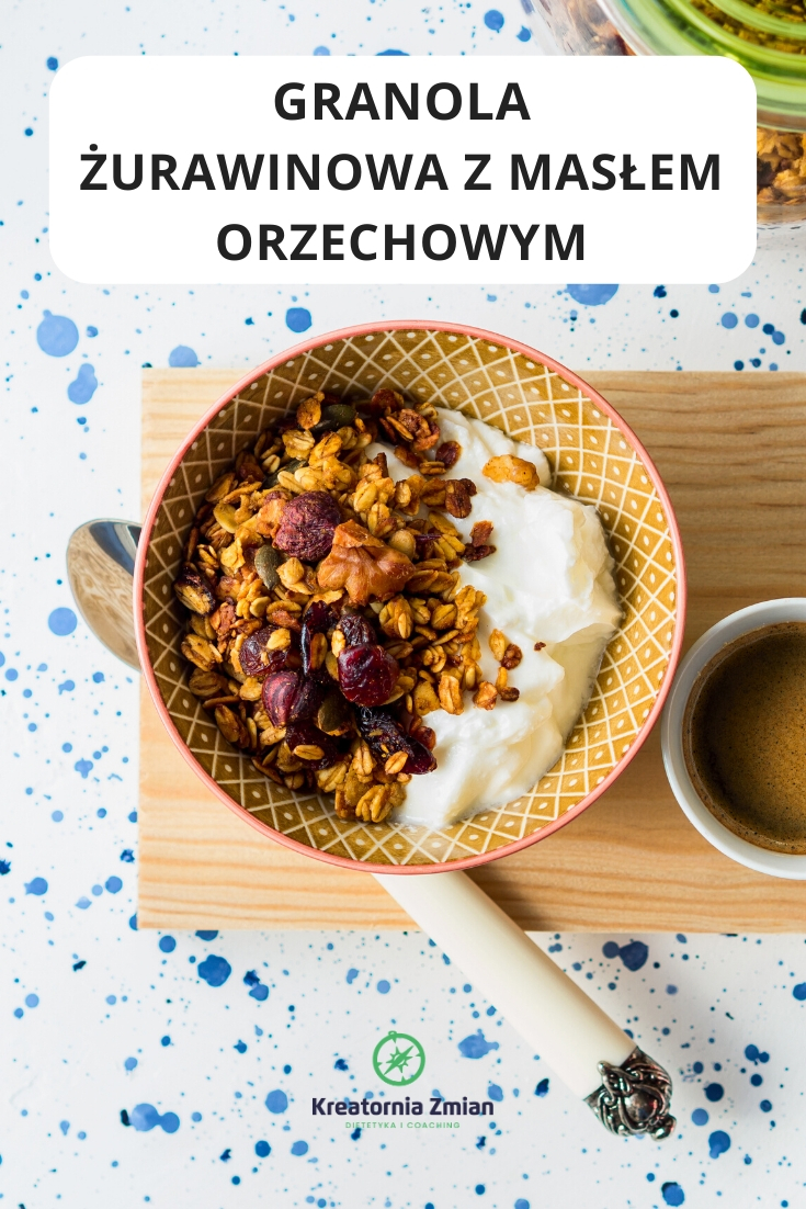 granola zurawinowa