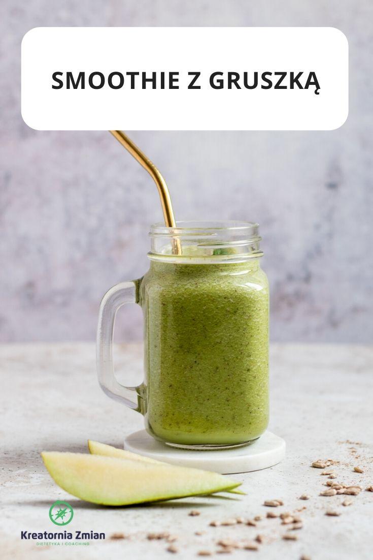 smoothie z gruszką